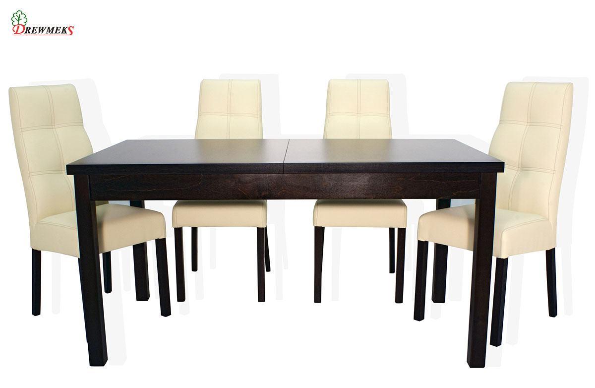 Zestaw: krzesło Como oraz stół Liva | Drewmeks